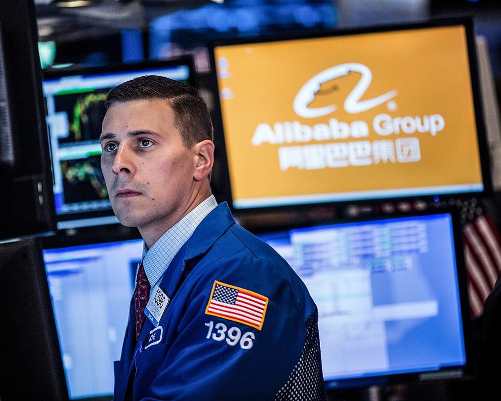 fe33ad9b80b66 Акции Alibaba Group в первый день торгов подорожали на 38% :: Экономика ::  РБК