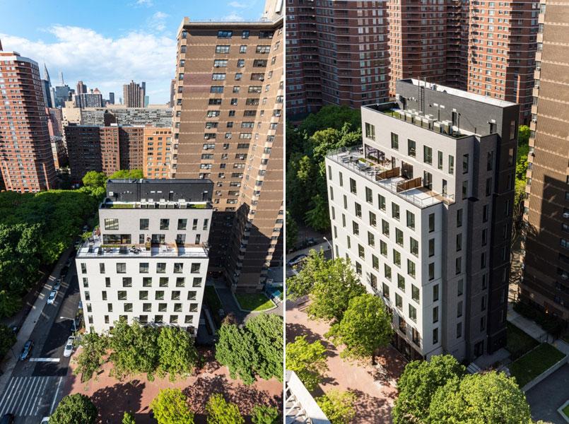 Возведение дома сосверхкомпактными квартирами стало следствием резкого снижения доступности городского жилья вНью-Йорке: с2000 по2012 год средние ставки аренды вНью-Йорке выросли на75%, говорится вотчете инспектора Нью-Йорка Скотта Стрингера