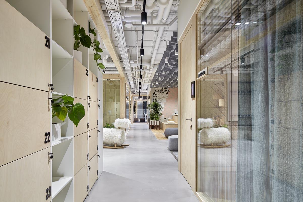 Новый этаж московского офиса «Авито» оформлен в стиле хюгге