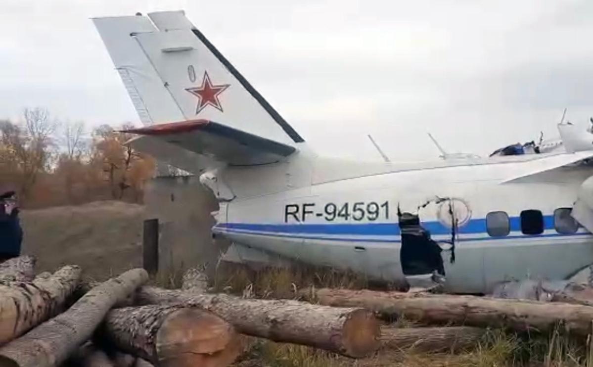Названы возможные причины крушения самолета с парашютистами в Татарстане