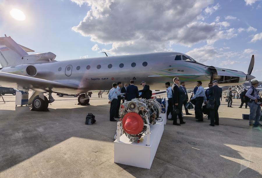 Летающая лаборатория на базе Як-40 и ее гибридный двигатель