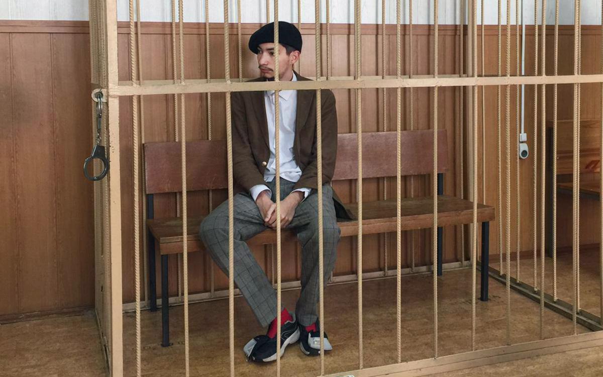 Акциониста Крисевича арестовали на два месяца за хулиганство