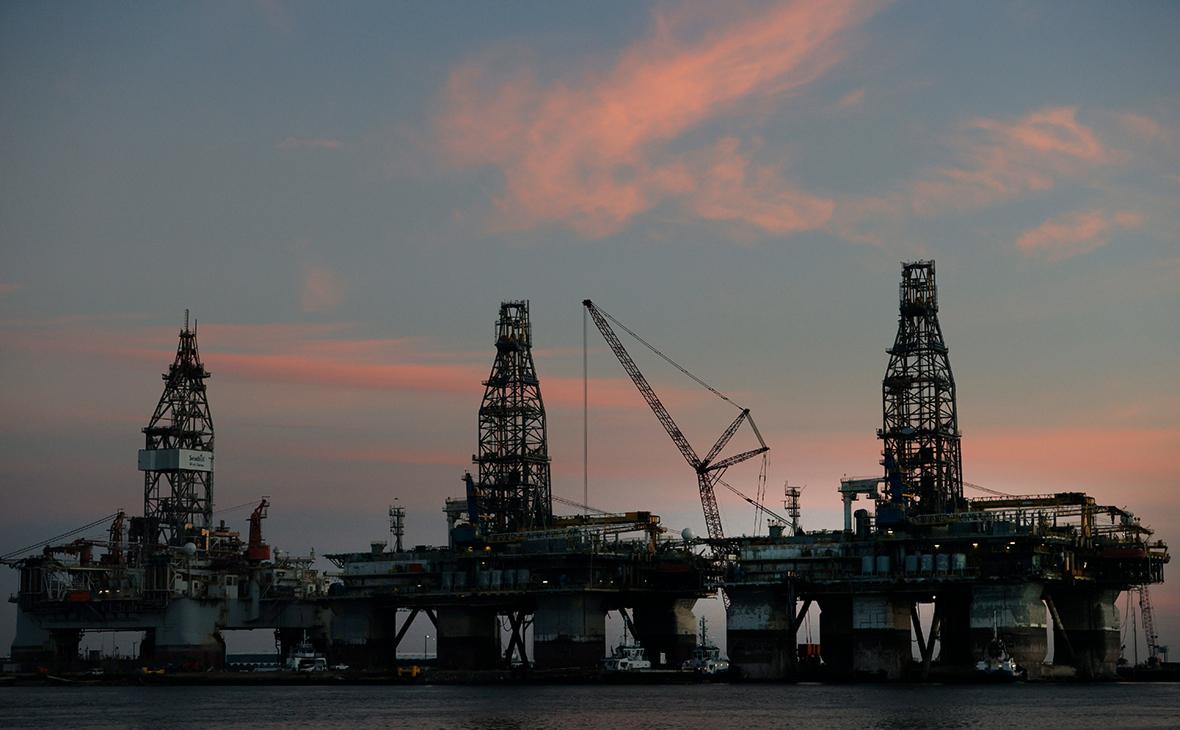 Нефтедобыча в Мексиканском заливе