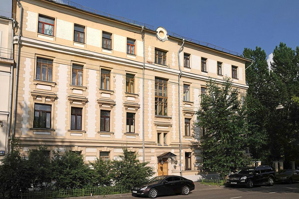 Реставрация доходного дома архитектора Клейна в Олсуфьевском переулке — один из первых элитных проектов в Хамовниках