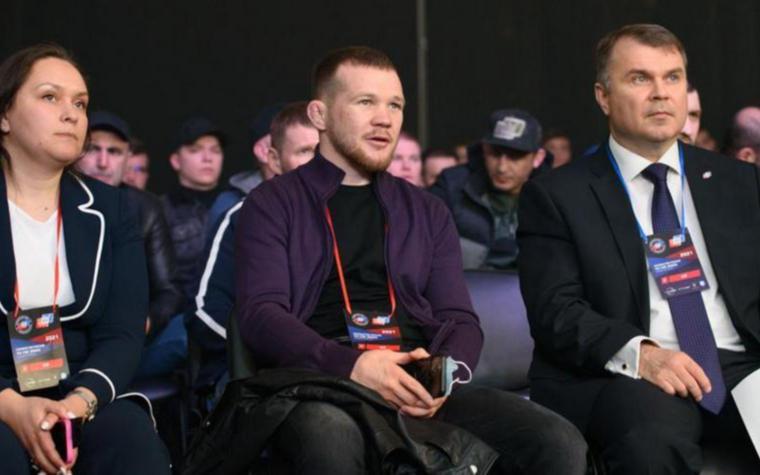 Фото:Бывший чемпион UFC Петр Ян