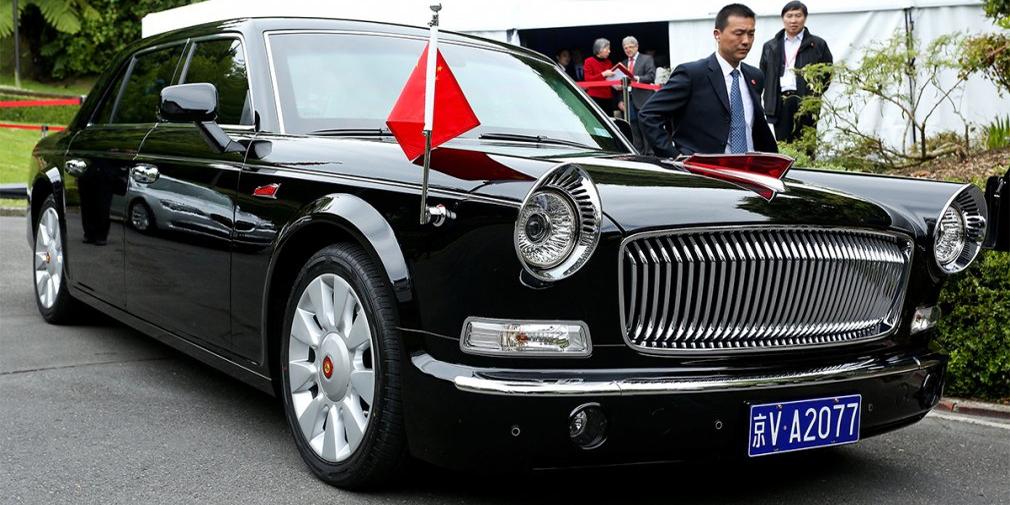 Hong QI HQE  Лимузин, выпущенный компанией FAW специально для председателя компартии Китая Си Цзиньпина, считается самым дорогим автомобилем, произведенным в Поднебесной. По разным оценкам, машина, имя которой переводится с китайского как «Красное знамя», стоит от 800 000 до 1,5 млн долларов США. Конструкция модели является государственной тайной. Известно, что она оснащается 12-цилиндровым мотором мощностью порядка 400 лошадиных сил.