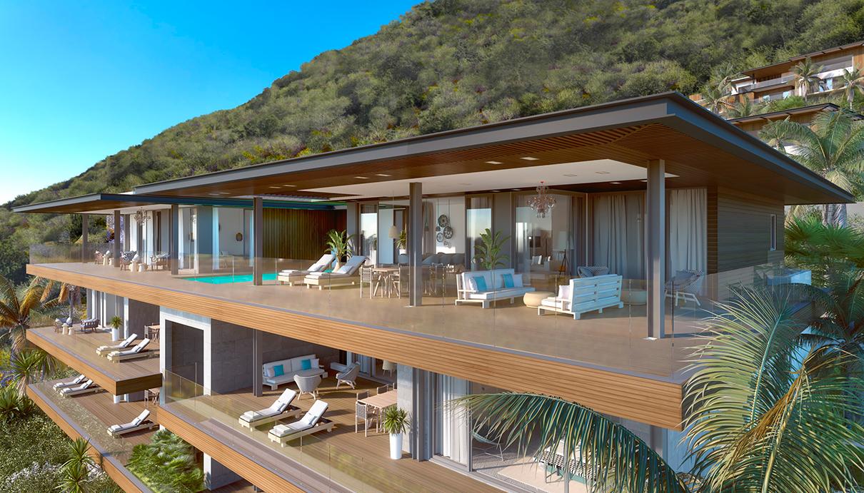 Апартаменты под управлением бутик-отеля на Маврикии