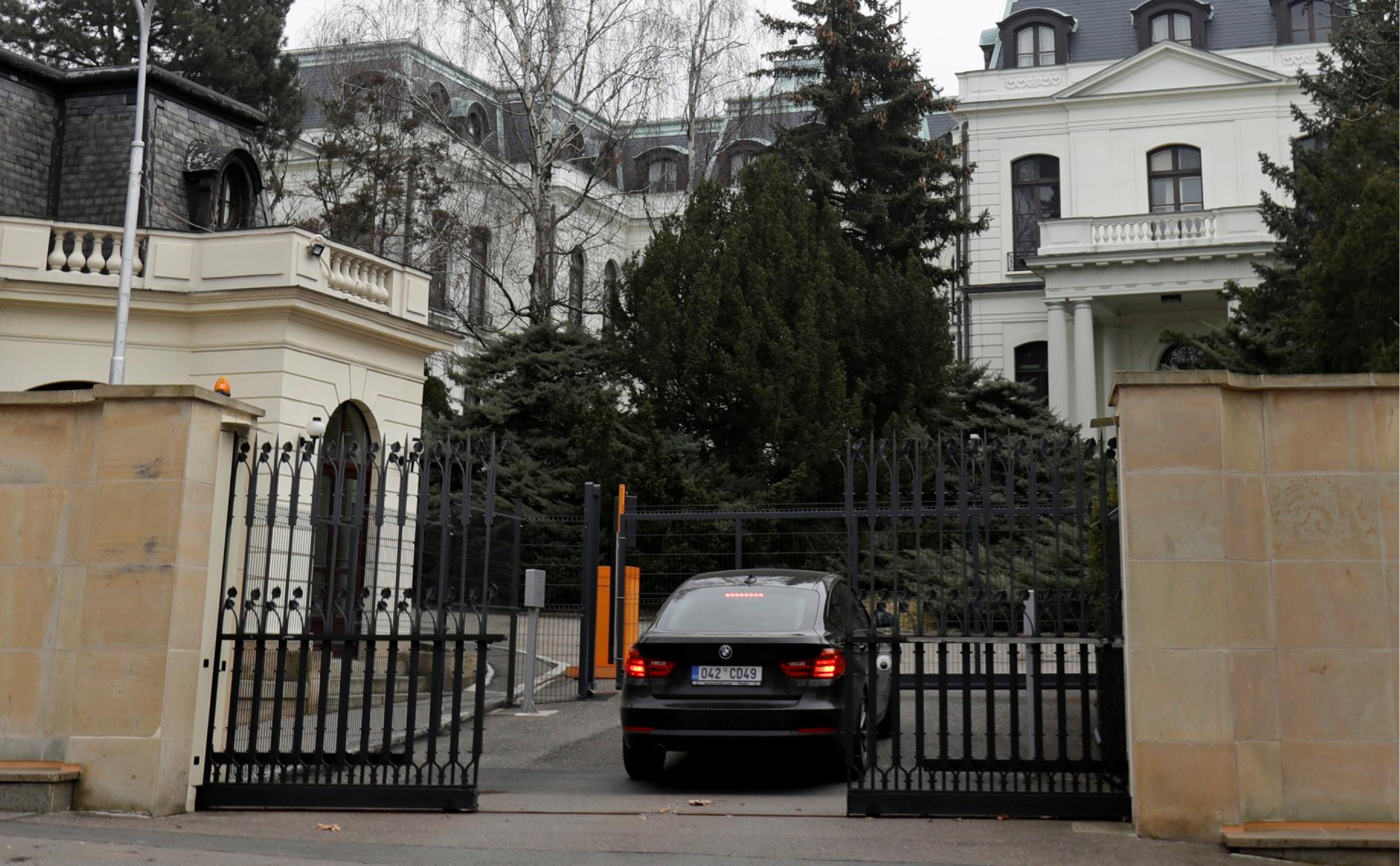 Российское посольство в Чехии