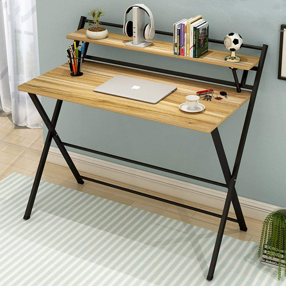 Рабочий стол на металлических ножках
