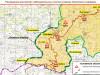 Минобороны показало карту размещения российских миротворцев в Карабахе