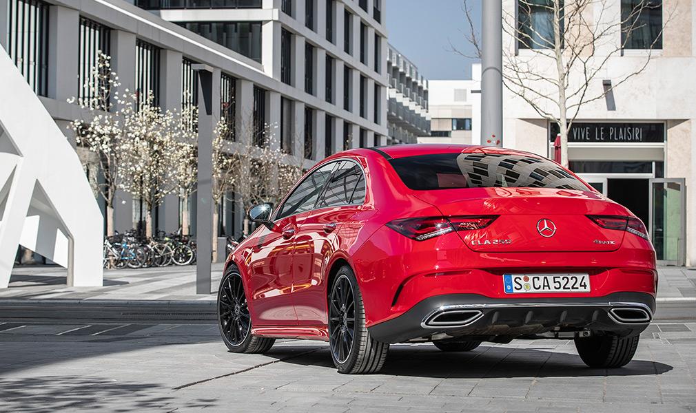 Mercedes с мотором 1.3: тест-драйв нового CLA Coupe