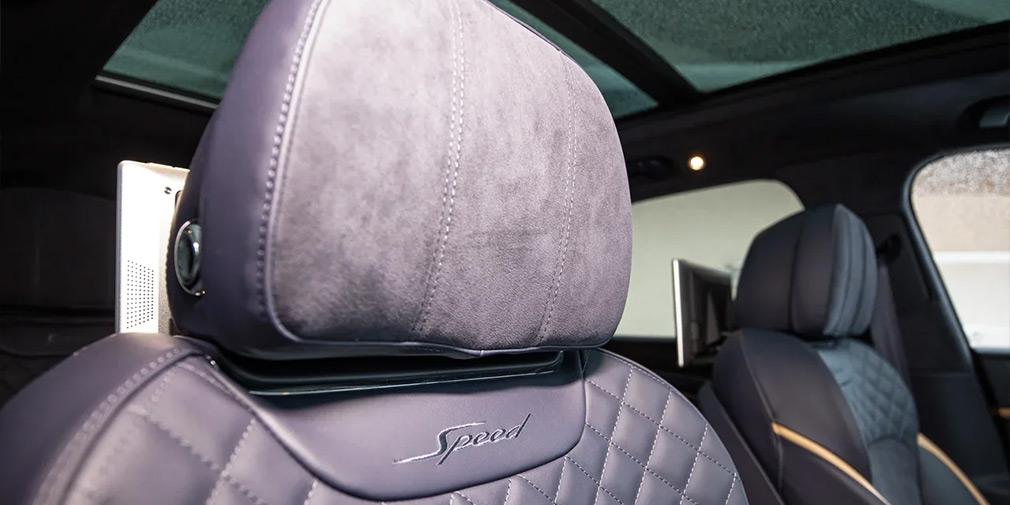 Программа-максимум. Тест-драйв Bentley Bentayga Speed