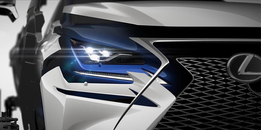 Lexus обновит кроссовер NX