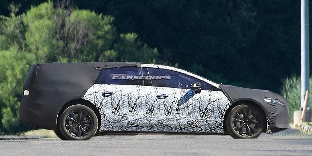 Mercedes приступил к испытаниям флагманского электрокара