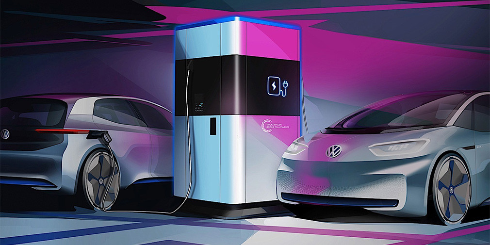 Volkswagen придумал power bank для электрокаров