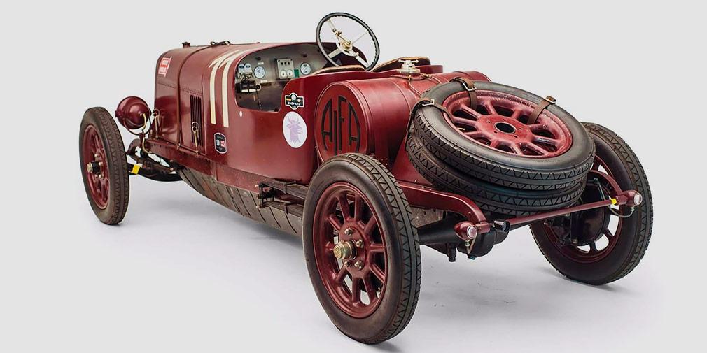 Первый автомобиль Alfa Romeo выставили на аукцион