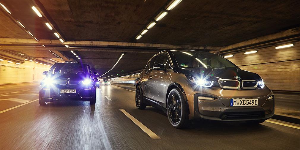 BMW назвала цены на электрокар i3 с увеличенным запасом хода