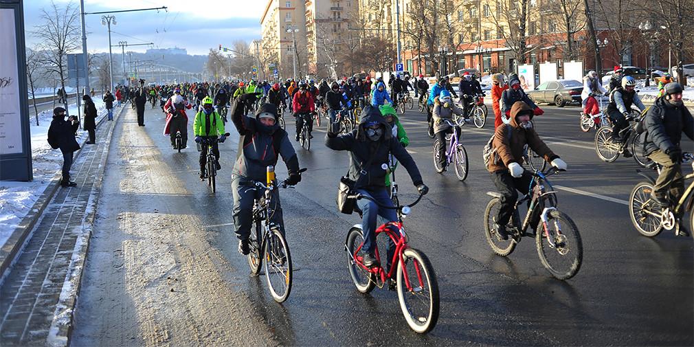 В Москве ограничат движение из-за велопарада