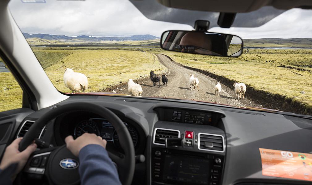 Другая планета. Тест-драйв Subaru XV в Исландии