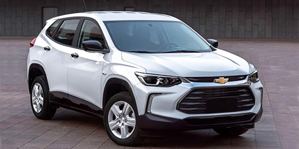 Появились первые фотографии нового кроссовера Chevrolet