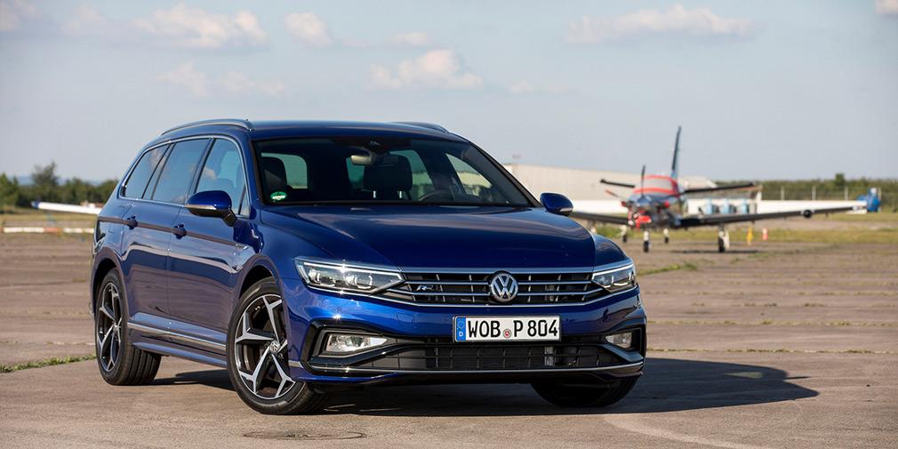 Руки вверх. Тест-драйв Volkswagen Passat
