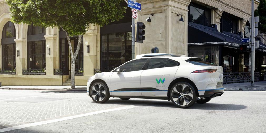 Jaguar и Google разработают беспилотный электрический кроссовер