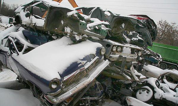 Модели попадающие под утилизацию авто