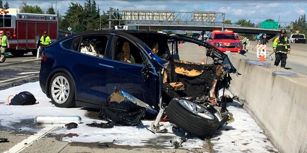 Tesla рассказала о смертельном ДТП с участием беспилотника