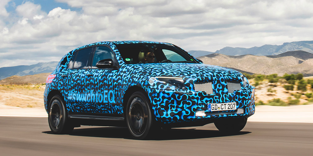 Mercedes рассказал об испытаниях электрического кроссовера EQC