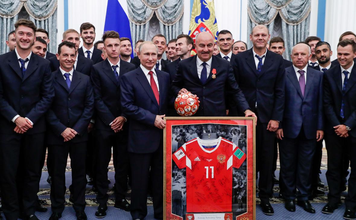 Почести сборной России в Кремле — позор? Многие спортсмены против