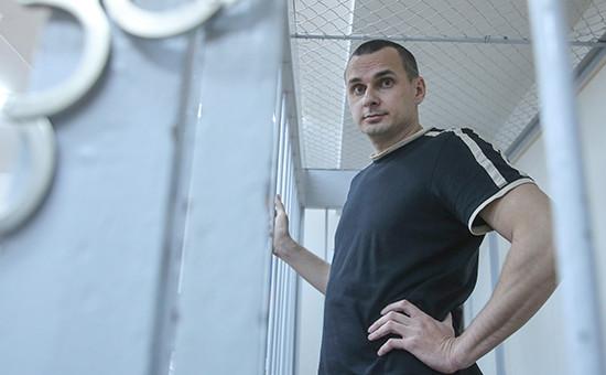 Украинский режиссер Олег Сенцов, задержанный в Крыму по подозрению в подготовке терактов