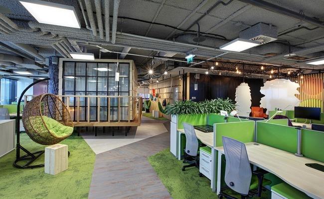 Офис компании Avito стал лучшим среди московских офисов площадью от 1 до 5 тыс. кв. м
