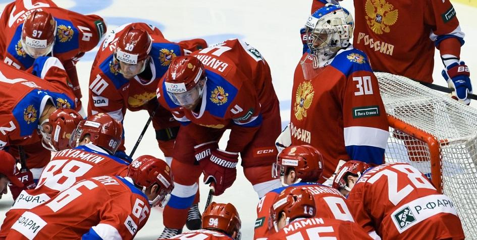 Первый канал покажет матчи сборной России по хоккею на чемпионате мира