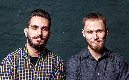 Сооснователи сети Boy Cut Андрей Шубин (справа) и Назим Зейналов (слева)