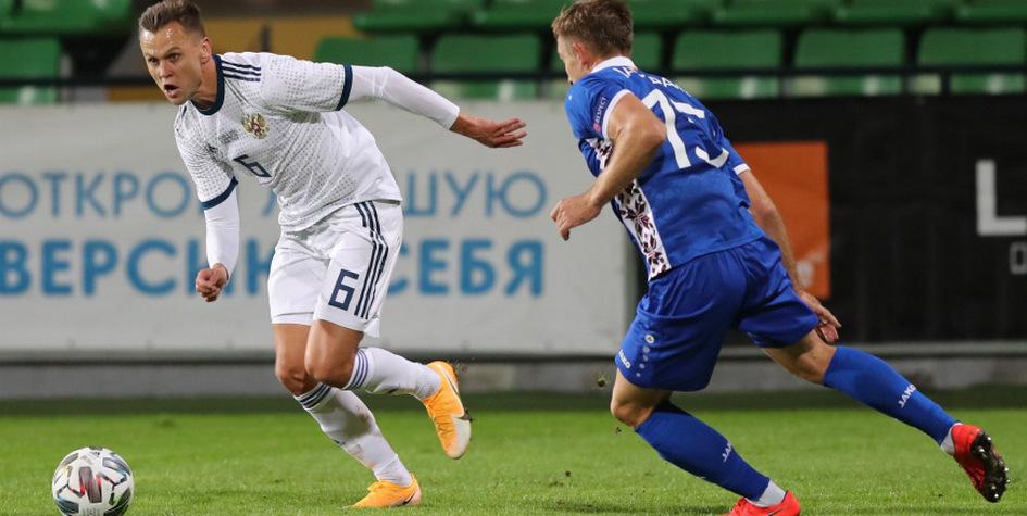 Сборная России по футболу не смогла обыграть команду Молдавии [Спорт]
