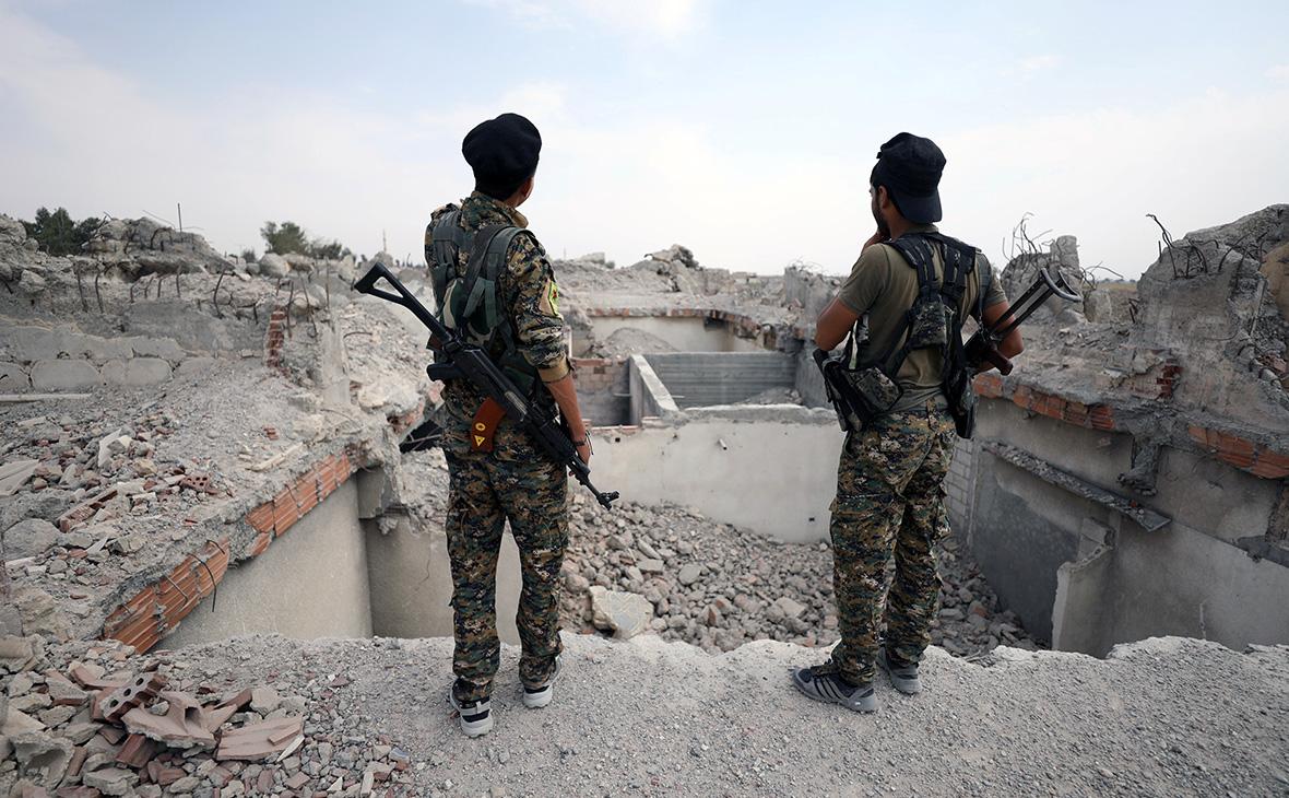 Ополченцы «Сирийских демократических сил»
