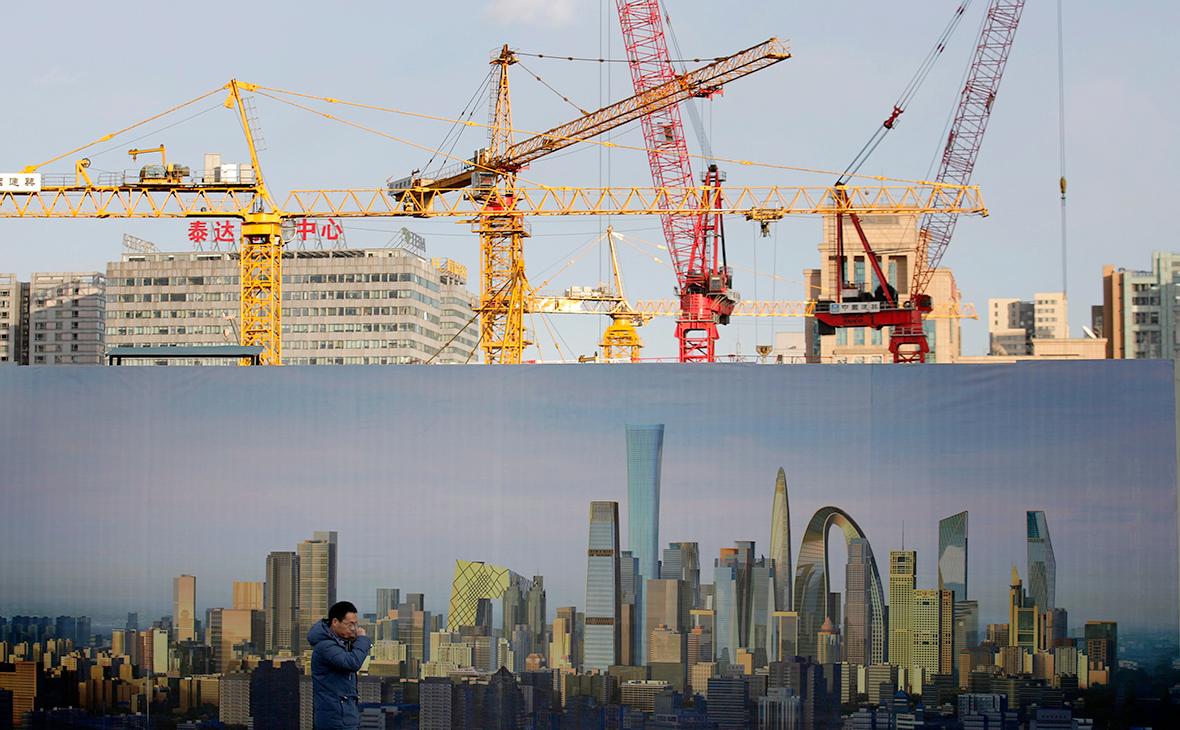 Вид на город Пекин