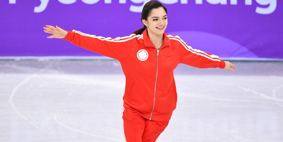 Двукратный призер Олимпиады-2018 Евгения Медведева ушла от тренера