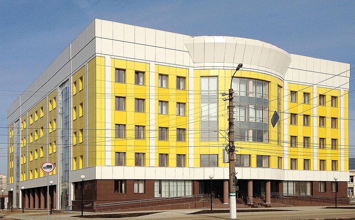Здание Московского районного суда Твери