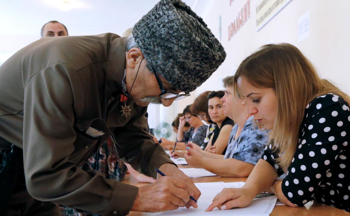 В Абхазии впервые стартовал второй тур президентских выборов