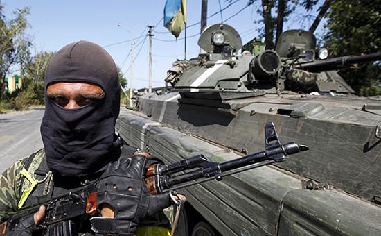 Солдат Украинской армии. Архив
