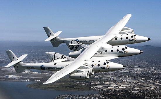 Cуборбитальный корабль SpaceshipTwo