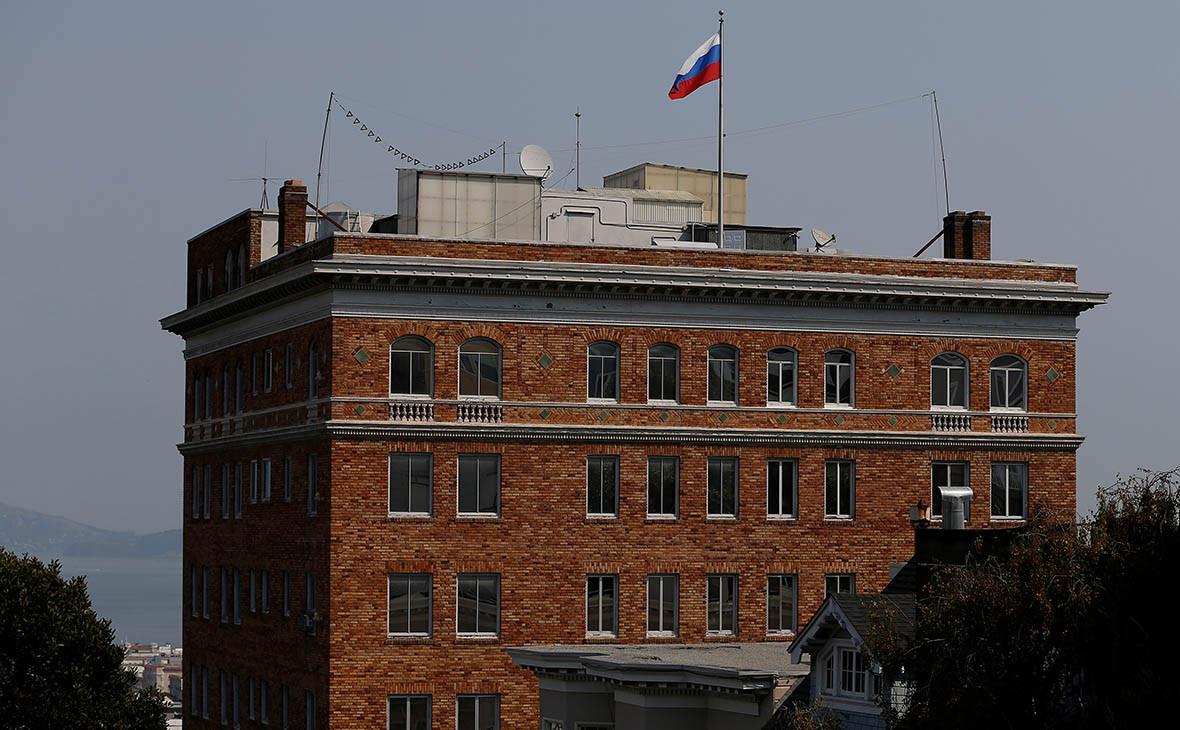 Здание,в котором размещалось российское генконсульство в Сан-Франциско