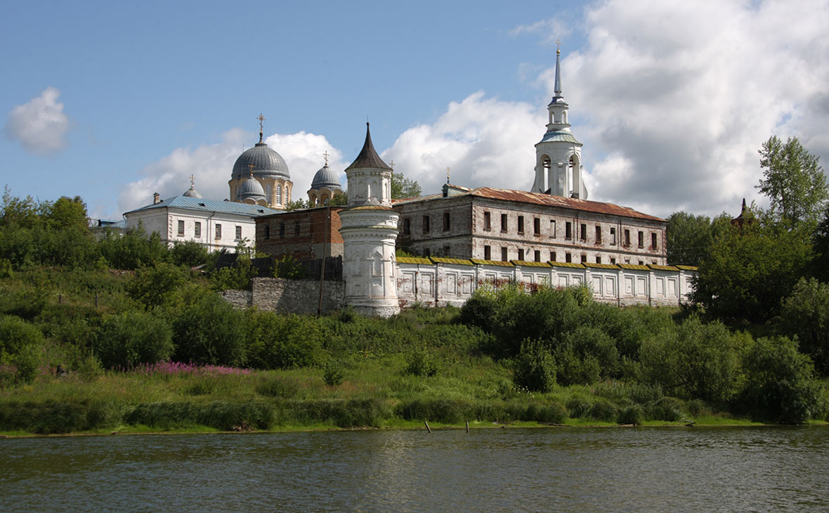 Спасо-Николаевский мужской монастырь в городе Верхотурье