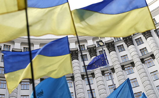 Здание кабинета министров в Киеве