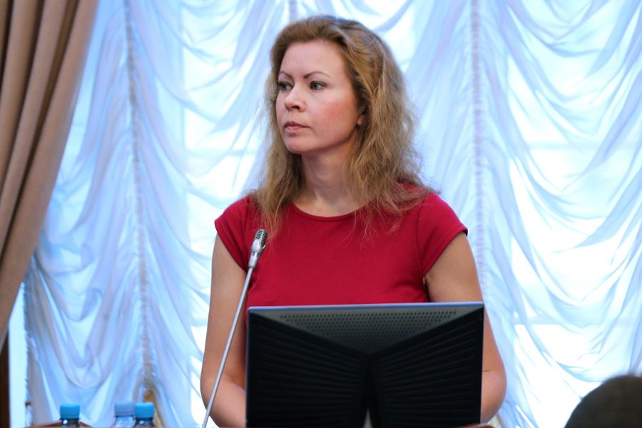 Врио министра экономики Калининградской области Нинель Салагаева.
