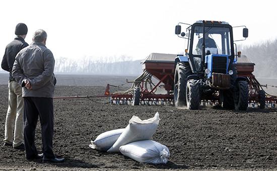 Весенние полевые работы на Кубани