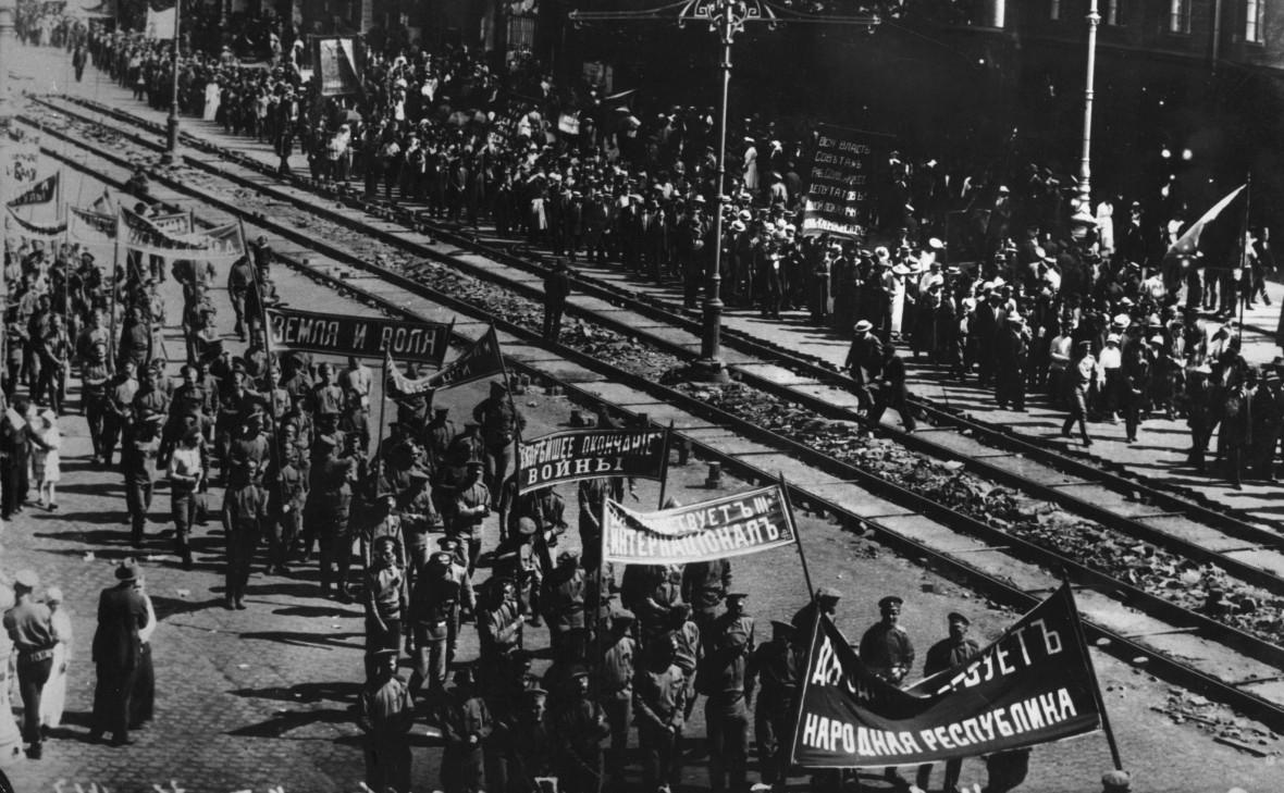 18 июня 1917 года: демонстрация в Петрограде во время революции