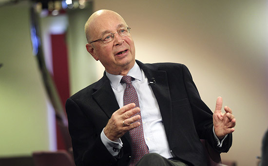 Глава и основатель Всемирного экономического форума в Давосе Клаус Шваб