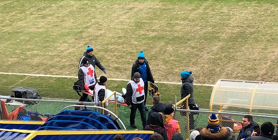 Футболист «Зенита» пропустит чемпионат мира из-за травмы колена